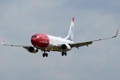 LN-DYG    737-8JP  Norwegian (Antonio Doblado) Tags: barcelona airplane aircraft aviation norwegian boeing airliner 737 b737 aviación elprat lndyg