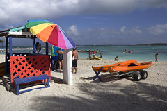 CocoCay Bahamas  Royal Caribbean Cruise line private island  Grandeur of the Seas ship (watts_photos) Tags: ocean cruise color beach water umbrella canon bench private island freedom sand colorful kayak ship wide azure royal line resort oasis ms caribbean bahamas independence enchantment seas allure grandeur cococay 60d