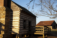 dusk approaches (Dennis Ludlow) Tags: park beautiful barn forest buildings nc nikon wake north shed carol carolina nikkor tobacco joyner