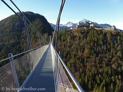 highline 179 - 22.11.2014 (bergschreiber) Tags: tirol highline burgruine ehrenberg reutte fusgängerhängebrücke b179 seilhängebrücke fernpassstrase highline179 burgenensemble