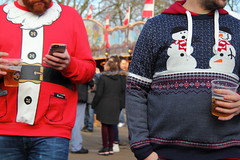 walking in a winter wonderland (aka Jon Spence) Tags: christmas xmas london fairground christmasmarket weihnachtsmarkt hydepark natale funfair weihnacht winterwonderland londonist christmasjumper