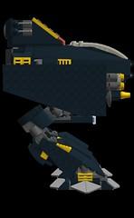 battlemech ocelote side (wray20641) Tags: toy toys lego vehicle mechwarrior mech moc battlemech