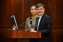 "Kazakh Natioanl Univdersity, speech of gratitude to the speech of gratitude to the Rector and the Members of Senat <a style=""margin-left:10px; font-size:0.8em;"" href=""https://www.flickr.com/photos/89847229@N08/15792722099/"" target=""_blank"">@flickr</a>"