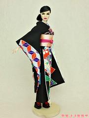 KIMONOnoMIRAI (KIMONOnoMIRAI Tsutae) Tags: kimono agnes wafuku frnippon poppyparker