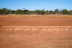 Cool signage telling bush pilots that this is the Anjajavy Airstrip. (Some have landed mistakenly in the past)
