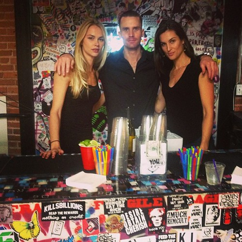Check out these beauties behind the bar this past week at Lab Art! #bartenders #models #staffing #events #eventlife #labartlosangeles #losangeles #hollywood #200ProofLA #200Proof