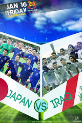 volca-iq designer iraq Vs japan match (volca_iq1) Tags: japan poster football team jan designer iraq 15 match vs iraqi   2015           volcaiq