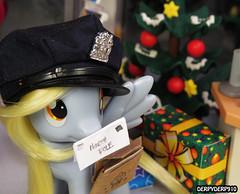 Naughty List 02 (DerpyDerp910) Tags: christmas reindeer toy toys is friendship little magic pony fim playmobil hasbro mlp mylittlepony hooves derpy my snowcatcher brony mlpfim derpyderp910