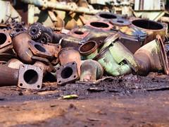 Gujarat 2014 (hunbille) Tags: india ships shops recycling gujarat alang shipbreaking