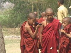 Young Monks and Toy Guns