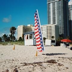 Miami Beach (Phillip Pessar) Tags: camera film beach analog kodak miami expired instamatic 2007 126 x15 c41 ferrania adox