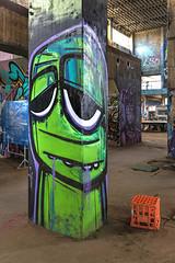 Glummo Powerhouse 2015-01-17 (IMG_5487-9) (ajhaysom) Tags: streetart australia powerhouse geelong canon1635l canoneos6d glummo