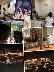 backstage anuradhapura srilanNKA canon 6d with 24 -70 F2.8 II (Himash De Silva) Tags: flowers light collage night canon temple eos candles buddha buddhist peaceful 24 srilanka 70 scenes f28 relics selfie 6d anuradapura ruwanwalisaya behibd