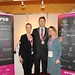 Showtel Karen Rafferty and Lorraine Galbraith, Avvio with Stephen McNally, IHF President