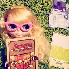 Adventure time card wars! #adventuretime #adventuretimecardwars #cardwars #blythe #blythedoll #finandjake