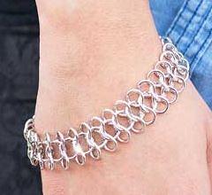 5th Avenue Silver Bracelet K1 P9210A-3