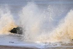 Wave Peaks (EJ Images) Tags: uk sea england slr beach water coast suffolk nikon wave spray coastal dslr eastanglia breakingwave seaspray lowestoft 2015 nikonslr d90 northparade nikondslr denes suffolkcoast nikond90 dsc0787 suffolkcoastal 55300mmlens northlowestoft denesbeach ejimages