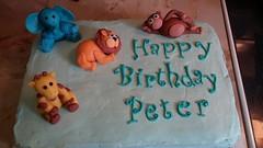 Animals cake by Nancy, Northern Utah, www.birthdaycakes4free.com