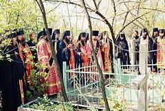 37. Панихида на радоницу на могилках святогорцев 1998 г