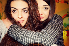 Best Frien Forever. (Mary98b) Tags: she girls love me girl myself friend like fair best her curly straight