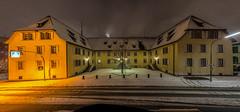 026-365 Herrschaftspeicher & Keller 1722-27- (Lichtschrauber) Tags: schnee pano 365 lrrach nachtaufnahme ort