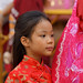 Faces in the crowd. Chinese New Year 2015 Bangkok