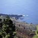 Blick von der Ruta de los Volcanes hinab zur Punta Larga