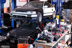 K23 and K25 engine builds underway (ks.childstar) Tags: life new black shop honda texas photos box parts stock engine houston crx piston gravity remove civic build rods install motorsports rare coupe rbb childstar jtran k20a k24 k24a2 nwp4life
