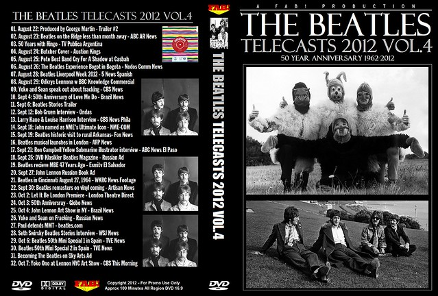 The Beatles Telecasts 2012 Vol 4