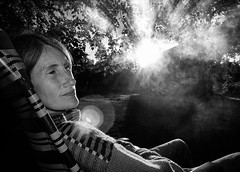 Hökhemmet, June 29, 2006 (Ulf Bodin) Tags: summer portrait people blackandwhite monochrome sweden maria småland sverige porträtt jönköpingslän