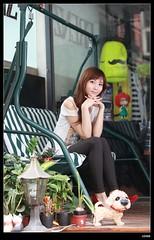 nEO_IMG__MG_6255 (c0466art) Tags: street light portrait girl beautiful female canon asia pretty sweet quality gorgeous taiwan east kind taipei charming activity pure 艾薇 5d2 c0466art