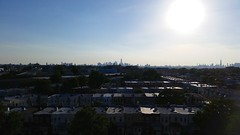Manhattan Skyline (Joe Shlabotnik) Tags: cameraphone nyc newyorkcity skyline queens 2014 faved middlevillage galaxys5 june2014