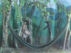 Mock Vient Cong Campsite in DMZ