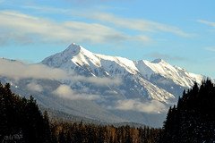 lookout (~ Mariana ~) Tags: ab canada rockymountains winter landscape sky clouds outstandingromanianphotographers marculescueugendreamsoflightportal travelsofhomerodyssey mariana ~mariana~