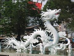 White Dragon Fountain near Cholon HCMC