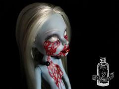 Katarina (saijanide) Tags: abbey monster dark high blood doll artist dolls ooak ghost goth gore horror macabre custom repaint bonimable saijanide