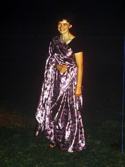 Sari Jane (the justified sinner) Tags: macro london college digital 35mm ball 1 kent md university minolta slide scan panasonic gown 50 35 sari copier wye rokkor gh2 autobellows janepickett justifiedsinner