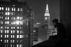 A Different Perspective (IAmTheSoundman) Tags: roof ohio rooftop night long exposure jake takumar sony exploring cleveland terminaltower a99 barshick