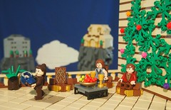 The Life of a Jedi 1#- Being Taken to the Temple (Brickwielder) Tags: life temple star lego perspective jedi series wars forced doan of