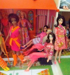 TYLER ARRIVES (ModBarbieLover) Tags: 1971 barbie christie 1970 tnt marlo