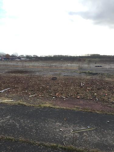 Desolate wasteland