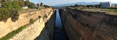 Corinth Canal (quiggyt4) Tags: bridge history water port greek harbor canal europe mediterranean hungary wwii corinth aegean engineering battle athens historic greece civil transportation infrastructure imf geography shipping strategic freight strategy troika olympiakos athina piraeus attica shipment saronicgulf ionian civilengineering eurogroup ronpaul peloponnese isthmus korinthos ows bailout occupy peloponnesian isthmia gulfofcorinth eurozone syriza tsipras olympiakospiraeus occupywallstreet