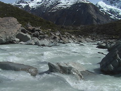Raging Glacial Waters