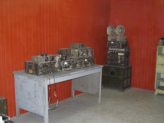 War-Era Radio Equipment in Reunification Palace Ho Chi Minh City