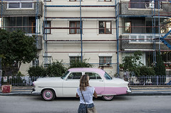 untitled (Levan Kakabadze) Tags: woman colour turkey vintagecar ankara