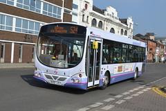 First Volvo B7RLE 66892 MX55LDJ - Bury (dwb transport photos) Tags: urban bus eclipse volvo bury first wright 66982 mx55ldj