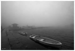 Lake Ashi, Hakone (260516) (n._y_c) Tags: blackandwhite japan fog fuji x hakone xseries lakeashi fujifim xt1 xf1024