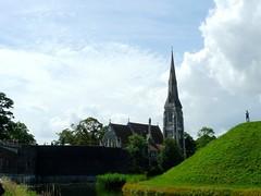 Different era (G. Racy) Tags: copenhagen denmark landscape bucolic church