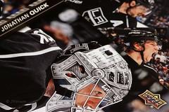 LA Kings (VenturaMermaid) Tags: macro closeup cards nhl 11 100mm tokina hmm canoneos upperdeck tradingcards macrophotography lakings gkg macromondays jonathanquick gokingsgo hockeytradingcards favoritehockeyteam