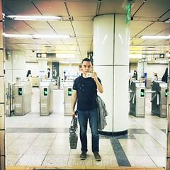 Seoul Subway (marcoslandin) Tags: haircut subway with shots seoul didi hongdae theoutro shotswithdidi